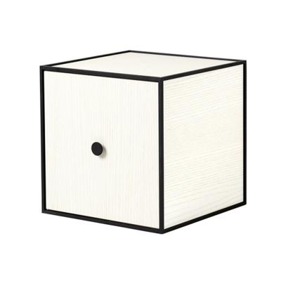 Bilde av Frame 28 kube med dør, hvit ask
