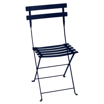 Bilde av Bistro Metal stol, deep blue