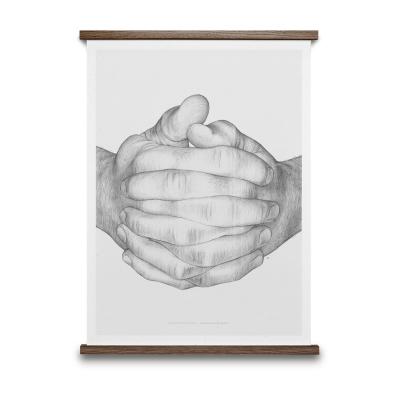 Bilde av Folded Hands, grå