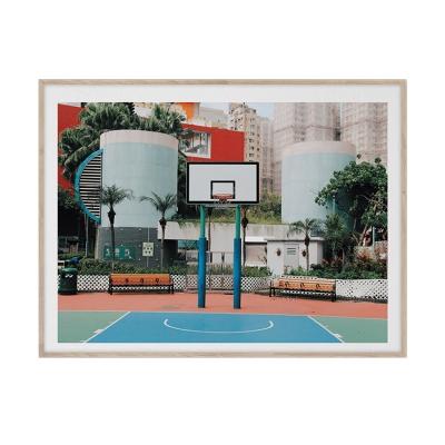 Bilde av Cities of Basketball 04 Hong Kong, 30 x 40
