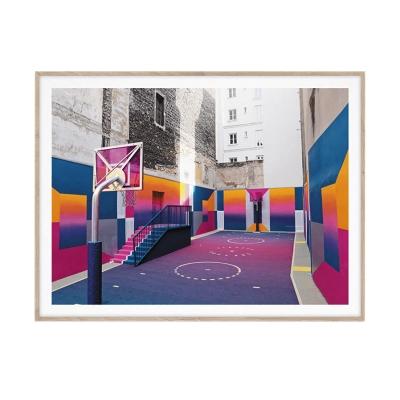 Bilde av Cities of Basketball 08 Paris, 30 x 40