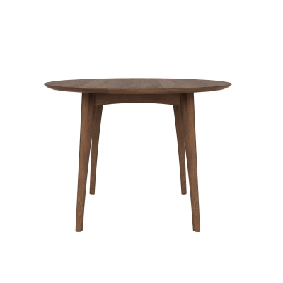 Bilde av Osso spisebord rundt høyt, valnøtt