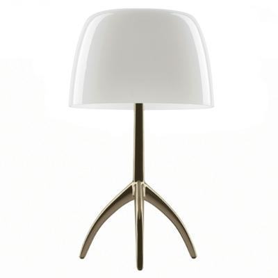 Bilde av Lumiere bordlampe dimmer, champagne/hvit