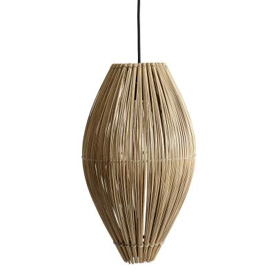 Bilde av Fishtrap taklampe M, natur/bambus