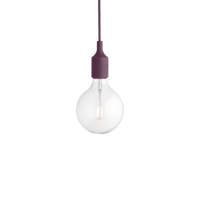 Bilde av E27 lampe LED, burgundy
