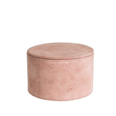 Bilde av Suede storage box M, rose