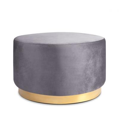 Bilde av Studio Round sittepuff 60, aluminium