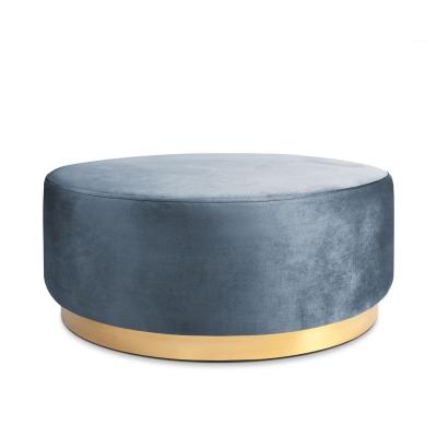 Bilde av Studio Round sittepuff 100, azure