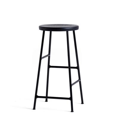 Bilde av Cornet barstol h65, svart/sortbeiset eik