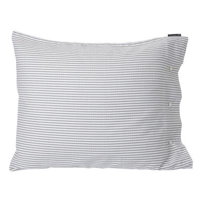 Bilde av Tencel Striped putetrekk 50x60, hvit/svart