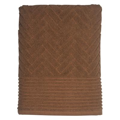 Bilde av Brick badehåndkle 70x133cm, tobacco