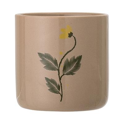 Bilde av Blomsterkrukke 9,5 cm, brun