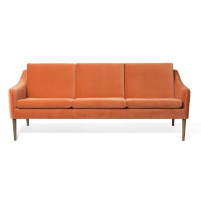 Bilde av Mr. Olsen 3-seters sofa, rusty rose velvet