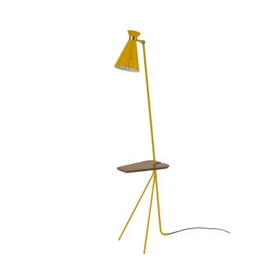 Bilde av Cone gulvlampe, honey yellow