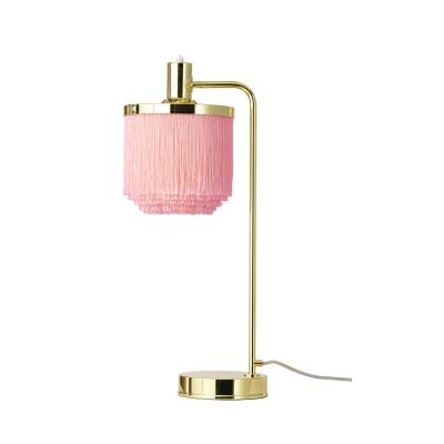 Bilde av Fringe bordlampe, pale pink