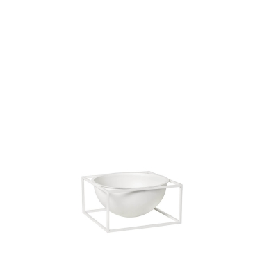 Bilde av Kubus Centerpiece skål L, hvit