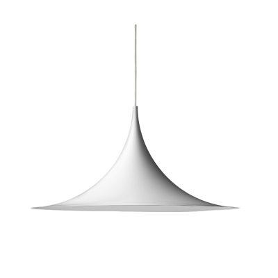 Semi pendel Ø47, hvit