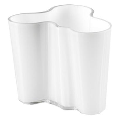 Aalto vase 95 mm hvit