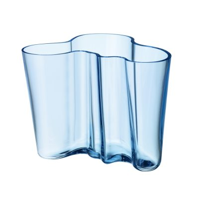 Aalto vase 160 mm lyseblå