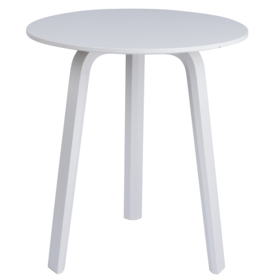 Bella sofabord Ø45 H39 hvit
