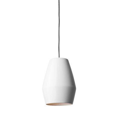 Bell taklampe, hvit
