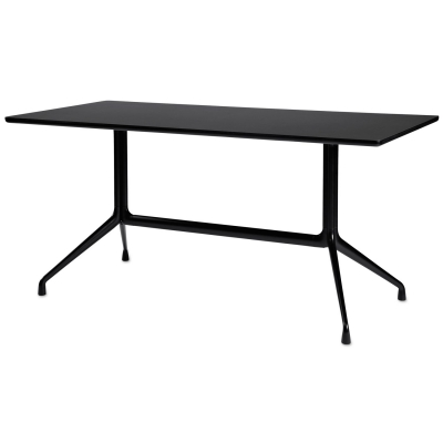 About a Table 10, 180x90, svart/svart