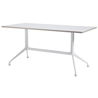 About a Table 10, 220x90, hvit/hvit
