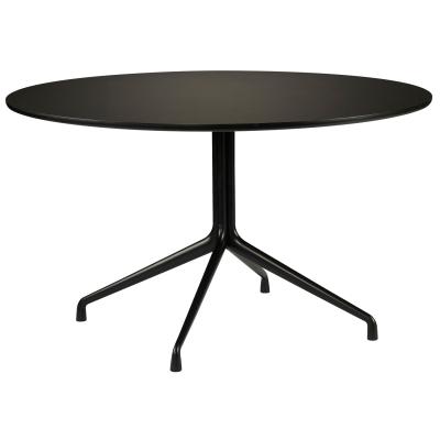 About a Table 10, Ø100, svart/svart