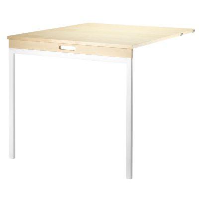 Klappbord bjørk, hvite ben