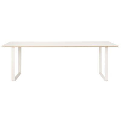 70/70 bord 170 cm, hvit