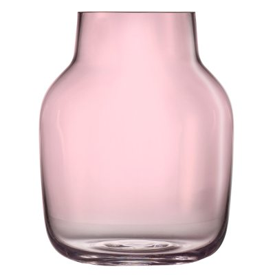 Silent vase L, rosa