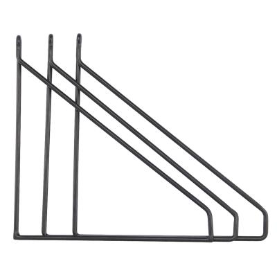 Bilde av Apart hyllebærer 3-pack, svart
