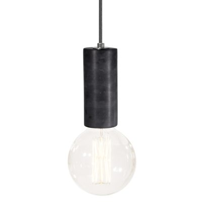 Marble taklampe, svart marmor