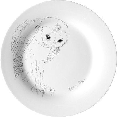 Barn Owl assjett