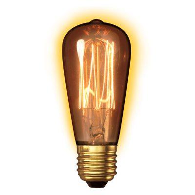 Bilde av Goldline Lampe Rustic E27 40W, small