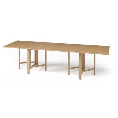 Sammenleggbart bord, eik