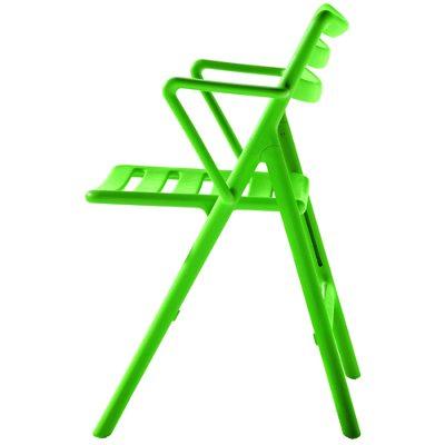 Air Chair karmstol sammenleggbar grønn