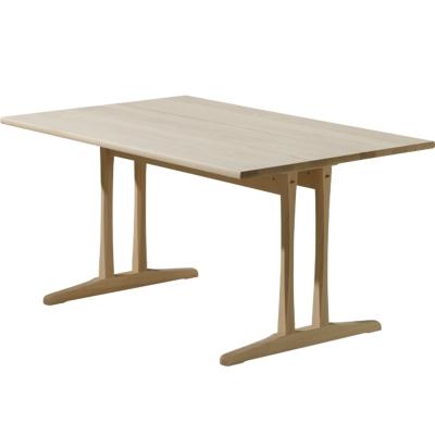 C18 bord 180x90 cm, såpet bøk