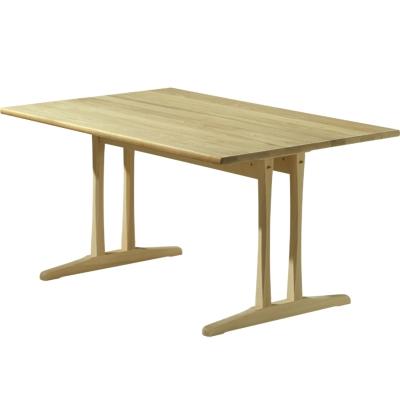C18 bord 180x90 cm, såpet eik