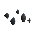 The Dots henger 5-pack, svart