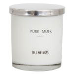Soy Wax duftlys, pure musk