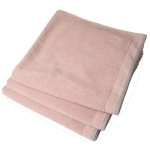 Dirty håndkle 70x50, pink blush/light grey