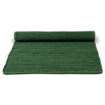 Cotton teppe med kant, guilty green