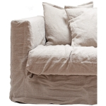 Le Grand Air Loveseat trekk, Savage Linen