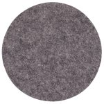 Coaster glasssbrikke, dark grey