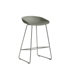 About a Stool 38 barstol h65, dusty green/rustfritt