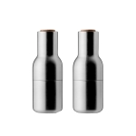 Bottle grinder 2-pack, børstet stål