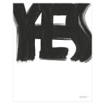 Yes poster 40x50