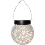 Glory solcellelampe oppheng, transparent