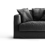 Le Grand Air Loveseat trekk, Carbon Dust